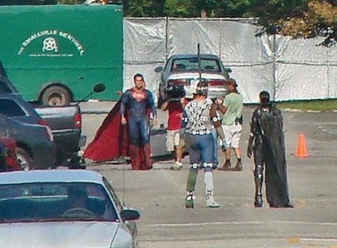 Man of Steel set photos