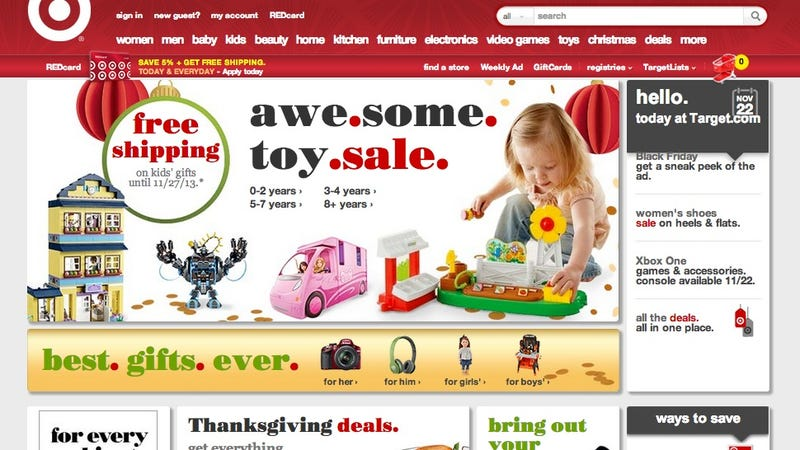 What the Hell Did Target Do to Its Website?
