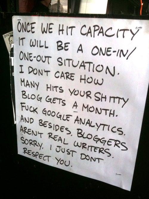 SXSW Hates Your Blog
