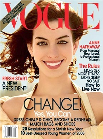 Vogue Might Get Makeover; Lily's Chanel Ads Are Out