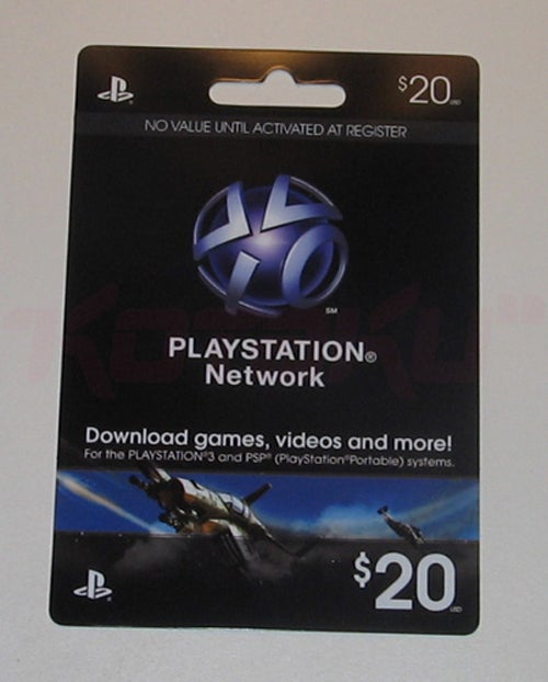 PSN Cards FINALLY Hitting Stores