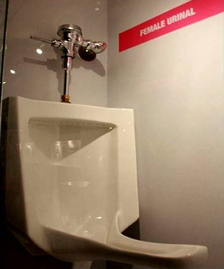 Finally, A Lady Urinal: A Weekly Roundup From The Tips Forum