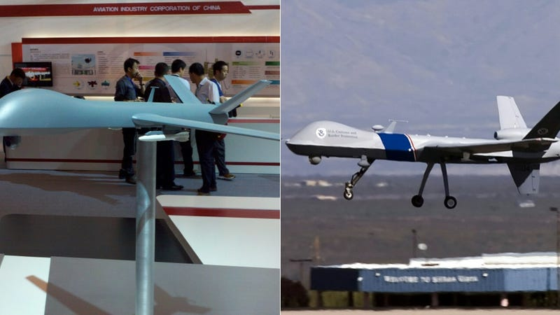 China's Predator Drone Ripoff Crashes and Explodes