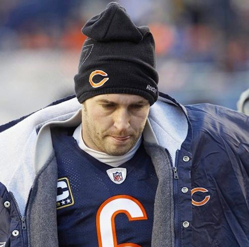 Weekend Winner: Jay Cutler, Safety Last