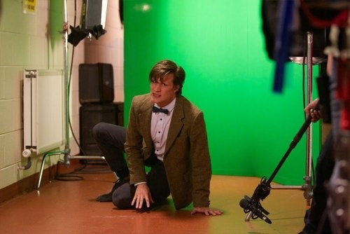 Sarah Jane Adventures Death of the Doctor behind the scenes