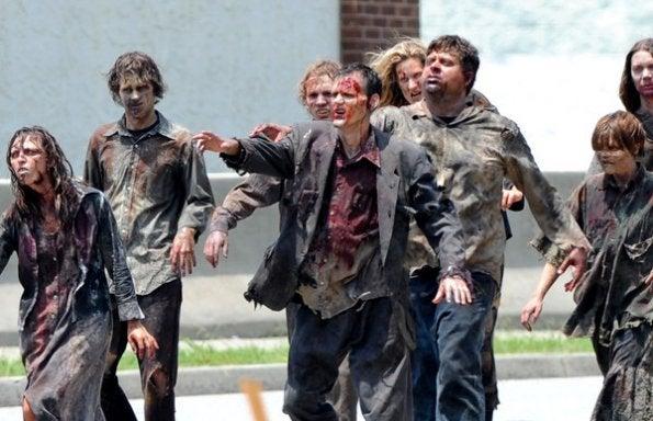 Walking Dead Set photos