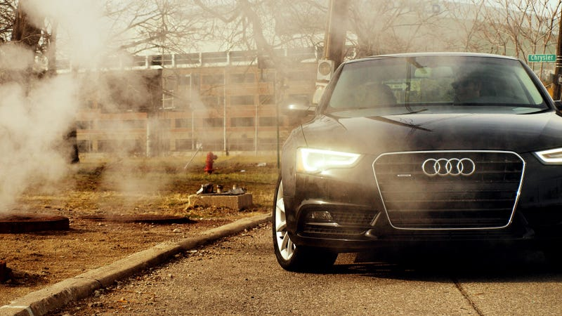 Audi A5. Detroit. Steam.