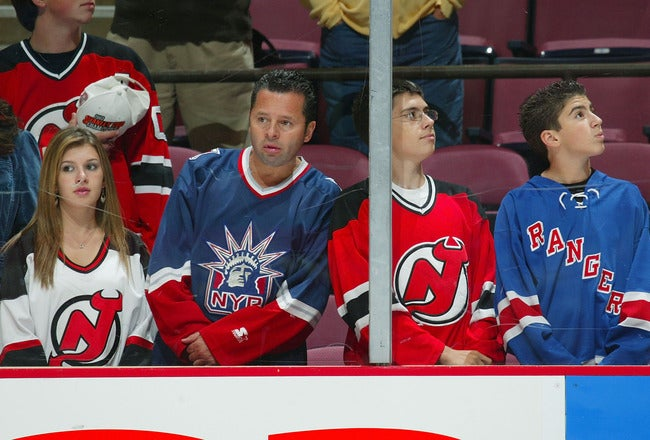 For Some Reason, You Can Fly From New York To Newark For Saturday's Devils-Rangers Game