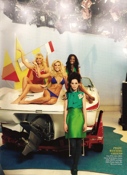 "Marie Claire's ""Price Is Bright"" Spread Will Make You Squeal Like A Game Show Contestant"