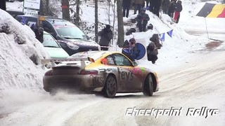 Porsche 911 Ice Dancing at Monte Carlo