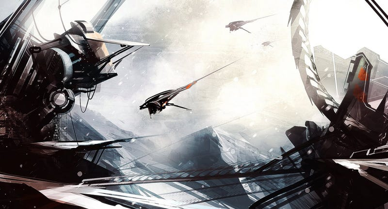 Sleek Spaceship Concept Art That Reminds You Of Your Favorite Space Opera Sagas
