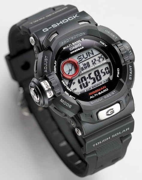 G-Shock GW-9200 Riseman Has Everything You Never Needed on a Watch