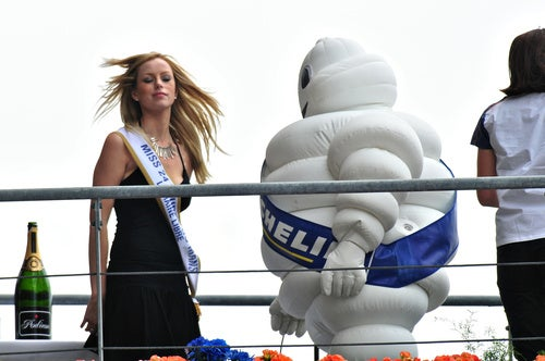 Caption This: Is That An Inflatable Bibendum Suit In Your Pants, Or...?
