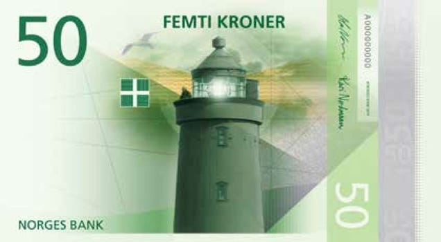 New Currency Norway Norway's New Currency Design