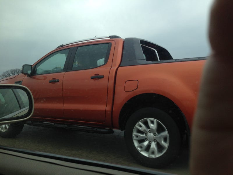 New Ford Ranger Spotted In The Us Looks A Lot Bigger Than