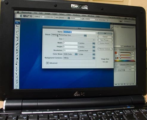 Full, Reliable Instructions to Load OSX on Eee PC