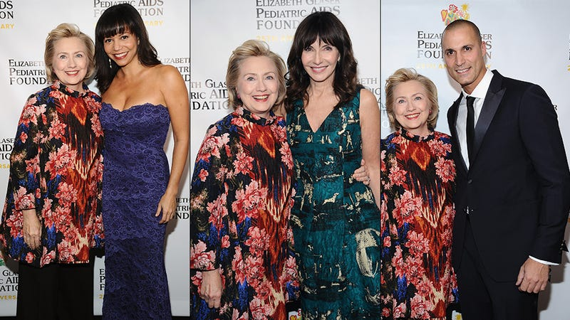 Hillary Rodham Clinton Is Honored by her Fabulous Friends