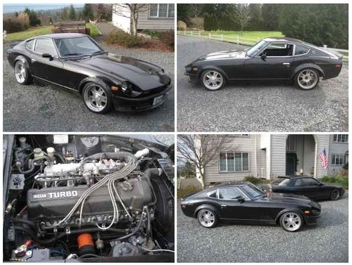 Transplant a Turbo 280Z into Your Driveway for $8,500!