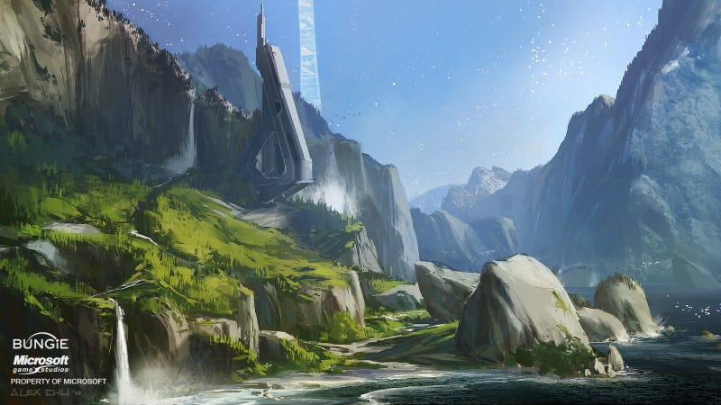 Halo: Reach Sure Was Pretty Before The Covenant Blew Everything Up