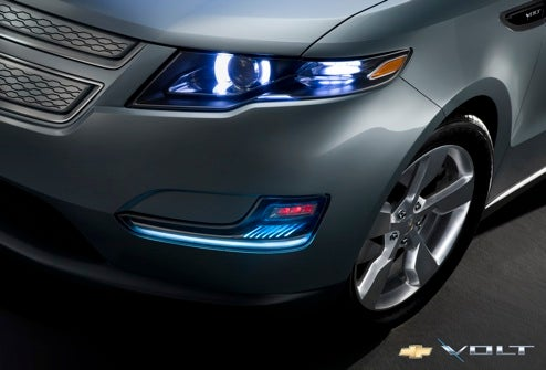 GM Reveals Two New Production Shots Of The Chevy Volt, 50 Prototypes On Road By End of Year