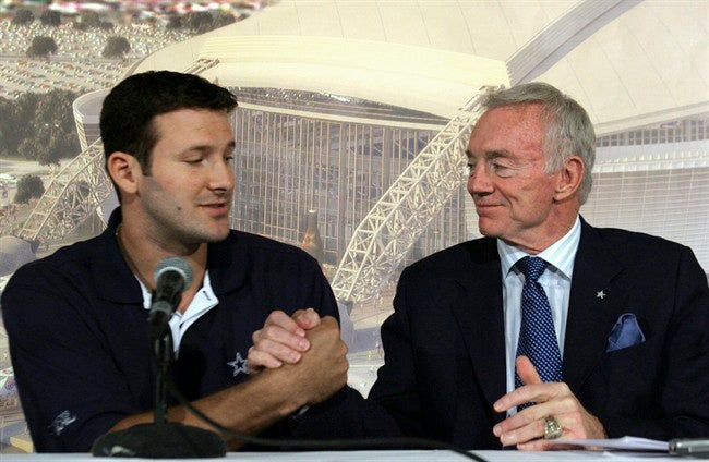 Jerry Jones Repeatedly Insists That Tony Romo Was The Fourth-Best Quarterback In The NFL This Year
