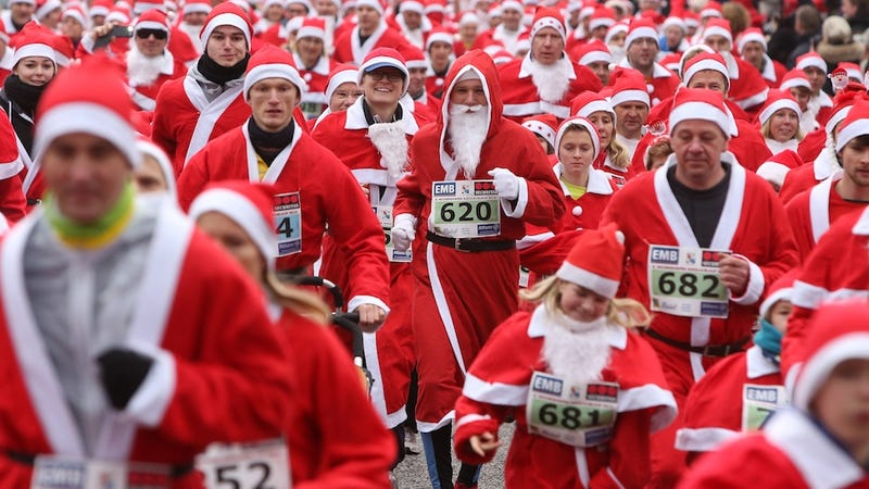 Germans Worry Santa Claus Is Killing Father Christmas