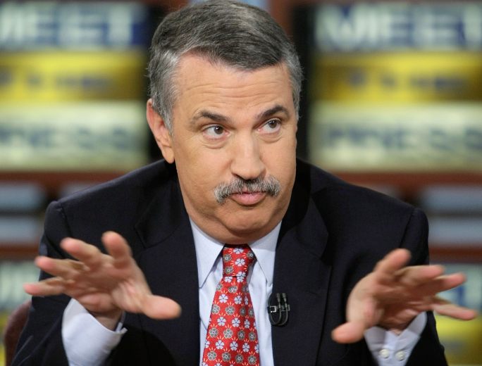 The Path of Thomas Friedman Is Beset on All Sides by the Inequities of the Selfish