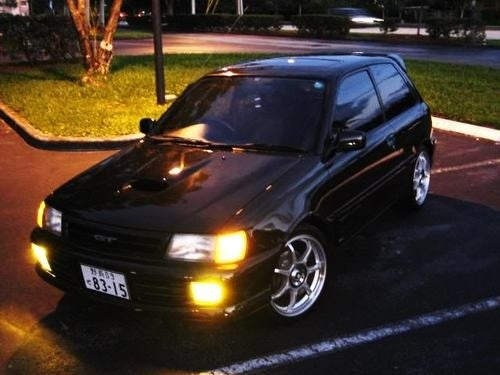 Toyota Starlet Sneaks Across the Border, Asks for $9,999!