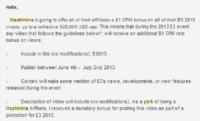 Sketchy Xbox One YouTube Promo Plan Now Requires Full Disclosure [UPDATE]