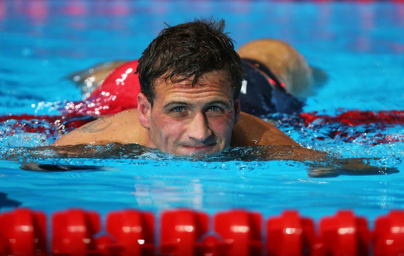 Ryan Lochte Has Something To Share With The Class