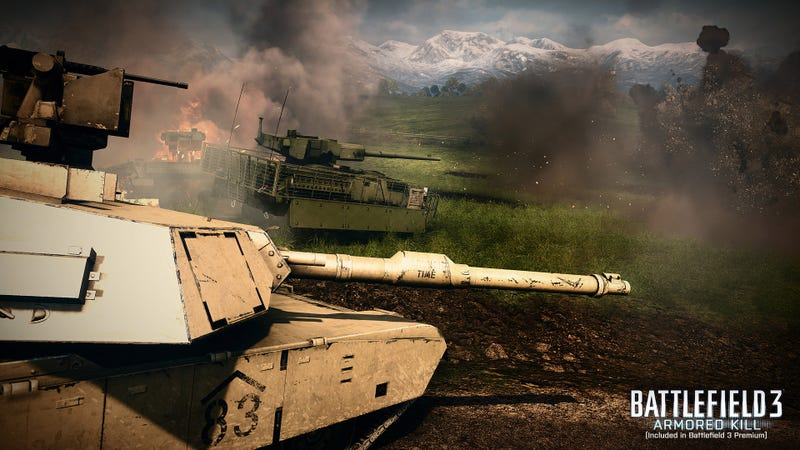 """All-Out Vehicle Warfare"" Roars Down the Road in Battlefield 3: Armored Kill This Fall"