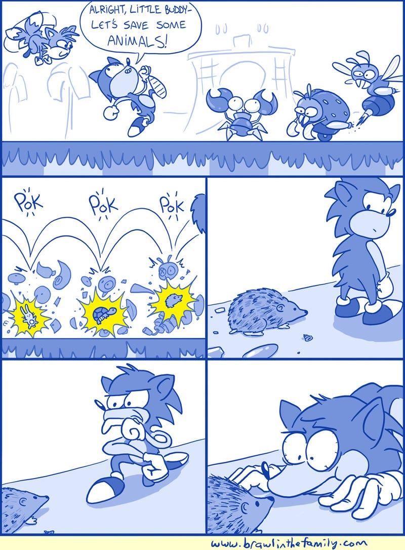 Sunday Comics: With Useless Powers Come ...