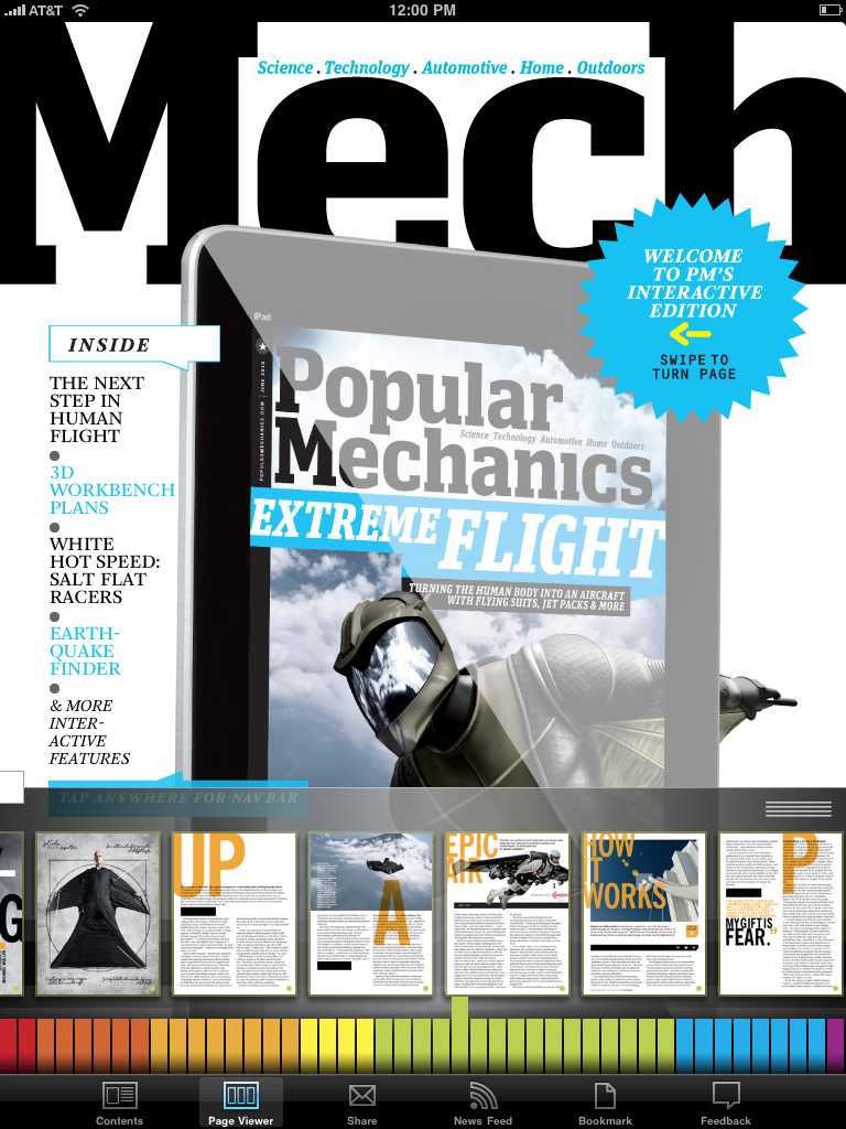 If You Buy an iPad Mag, It Might As Well Be Popular Mechanics