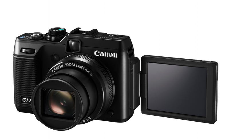 The New Canon G1 X Is the Biggest, Fastest, Baddest PowerShot Yet