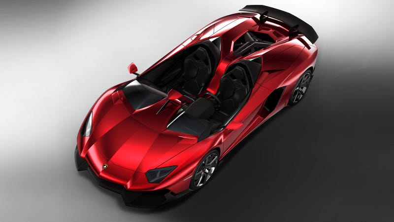 Lamborghini Aventador J: The Fastest Way To Eat Bugs And Ferraris