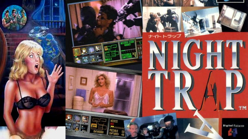 Night Trap Creators Defend Sloppy Kickstarter... Sorta
