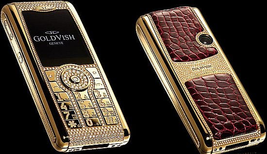 The Million-Euro Cellphone is A Smorgasbord of Diamonds, Croc and Execrable Taste