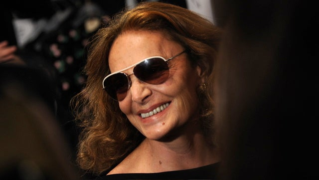 FYI, DVF's Skiing Accident Was Not A Cover For Plastic Surgery