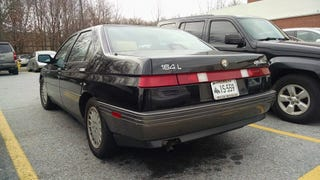 Clean Alfa 164 spotted