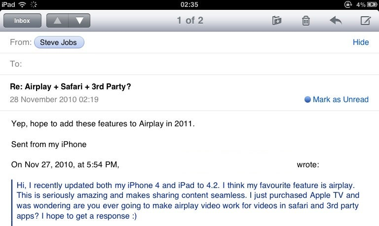 AirPlay Will Enmagicalize Third-Party Apps and Safari With Video Streaming Next Year