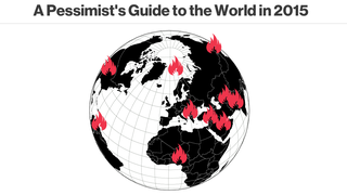 Bloomberg News asked foreign policy analysts, military experts and economists to identify the possible worst-case scenarios in 2015. Potential future crises include armed conflict in the South China Sea, the collapse of Nigeria and political upheaval in Saudi Arabia prompted by the death of 90-year-old King Abdullah.