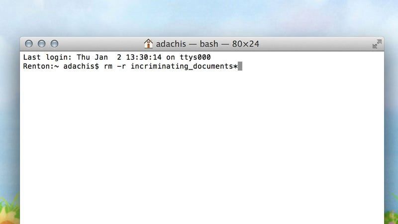 Delete Batches of Files Faster with the Command Line