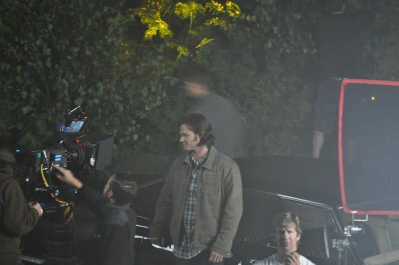 Supernatural set photos