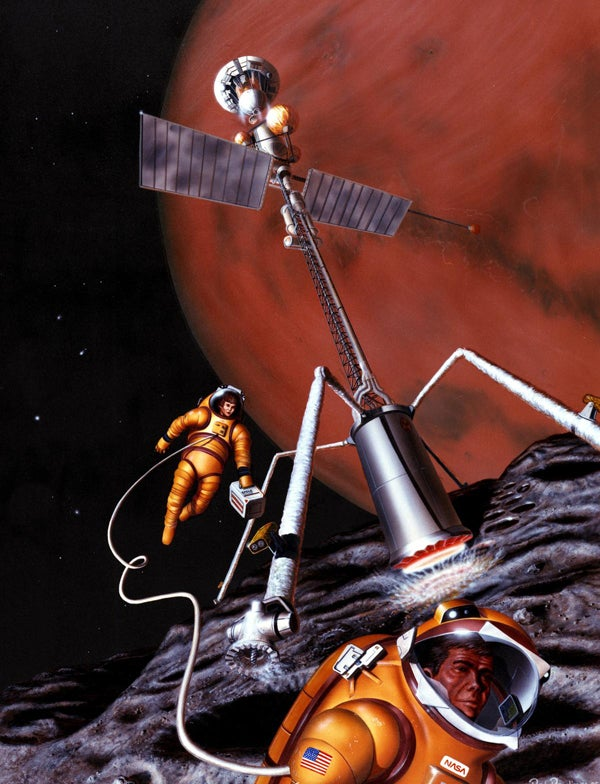 How NASA Imagined Humans on Mars, Back In 1990