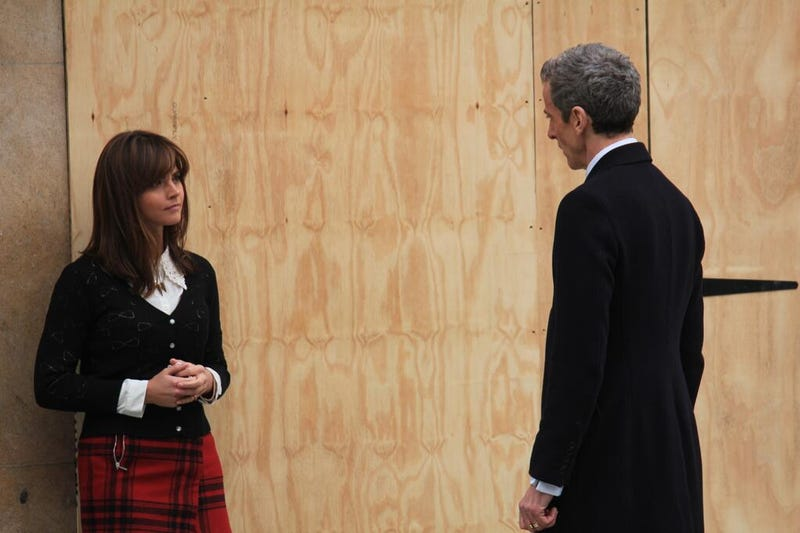 First pictures of Peter Capaldi filming in his new oufit hit the web!