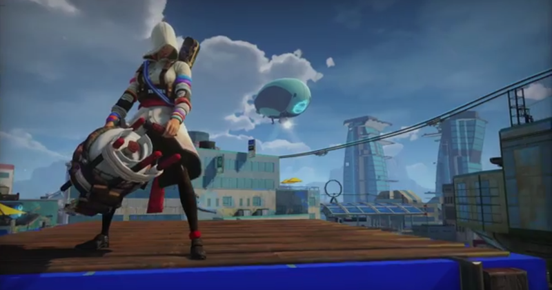 Wait. There's A Female Assassin In Sunset Overdrive?