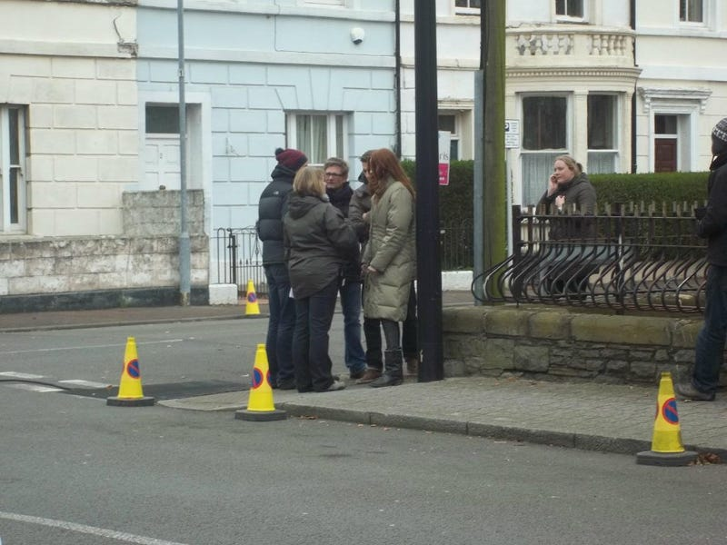 Doctor Who Series 7 Filming Part 2 Gallery