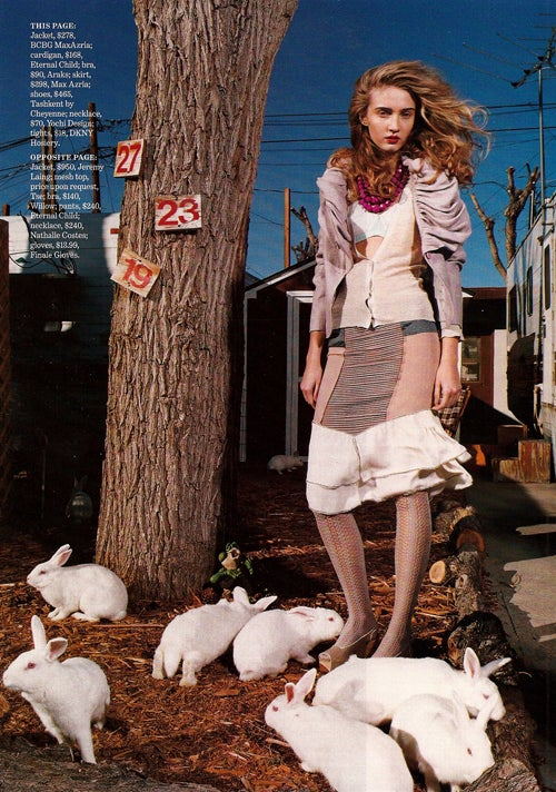 Marie Claire's Oh-So-Realistic Trailer Park Photo Shoot