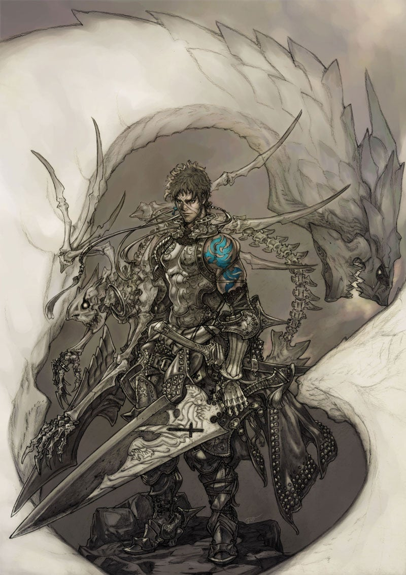 Is This Artwork From Mistwalker's Next Game?