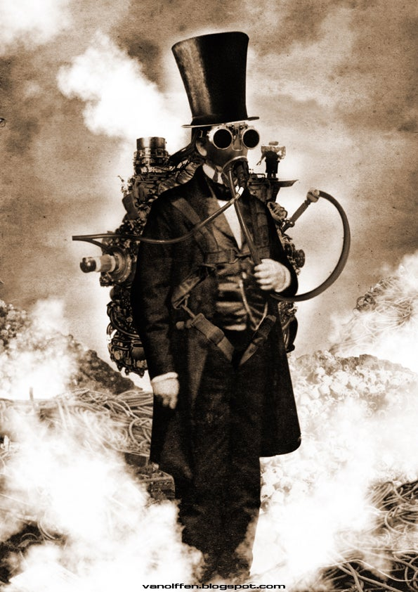 When Steampunk meets Surrealism